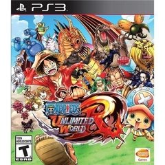 ONE PIECE: UNLIMITED WORLD RED BANDAI - PS3 - comprar online
