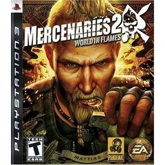 MERCENARIES 2: WORLD IN FLAMES EA - PS3