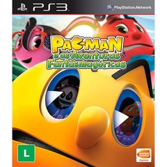 PAC-MAN E AS AVENTURAS FANTASMAGÓRICAS BANDAI - PS3
