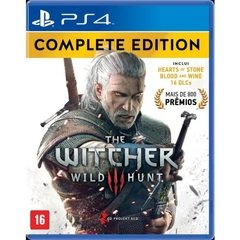 THE WITCHER 3: COMPLETE EDITION CD PROJEKT RED - PS4