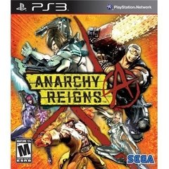 ANARCHY REIGNS SEGA - PS3