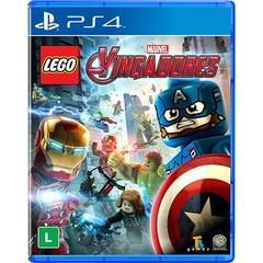 LEGO MARVEL VINGADORES WARNER - PS4