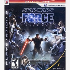 STAR WARS THE FORCE UNLEASHED LUCASARTS - PS3