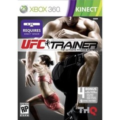 UFC PERSONAL TRAINER THQ - XBOX 360