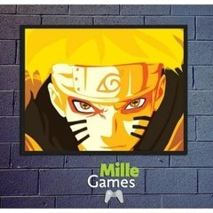 PLACA DECORATIVA NARUTO - MILLE GAMES