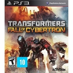 TRANSFORMERS: FALL OF CYBERTRON ACTIVISION - PS3