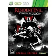 RESIDENT EVIL OPERATION RACCOON CITY SPECIAL EDITION CAPCOM - X360