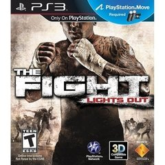 THE FIGHT LIGHTS OUT SONY - PS3