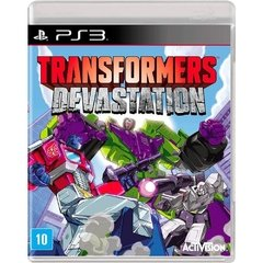 TRANSFORMERS: DEVASTATION ACTIVISION - PS3