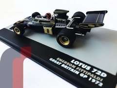 Lotus 72D - Emerson Fittipaldi - Great Britain GP 1972 - comprar online