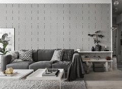 Wallpaper Chevron Blanco 2326-1 - comprar online