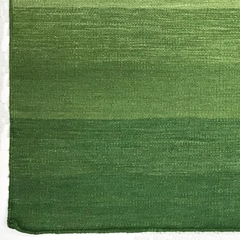 Tapete Kilim Degrade 170x240 green - comprar online
