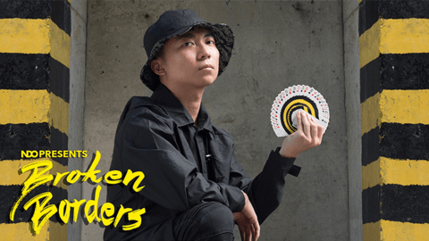 Baraja Broken Borders de The New Deck Order Jaspas NDO Cardistry