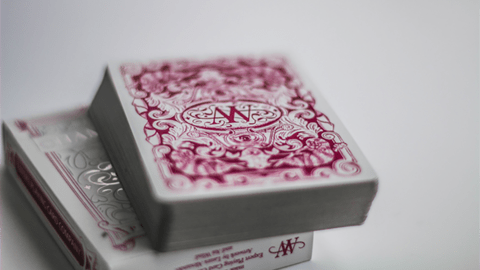 Baraja Chameleon Red Playing Cards Rojo