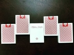 Baraja Madison Dealers Red Playing Cards Rojo Ellusionist Daniel Madison - Akhitoy