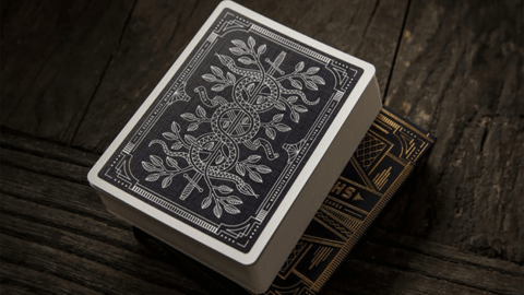 Baraja Monarchs Playing Cards Blue Azul de Theory11