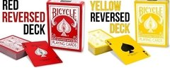Baraja Bicycle Reversed Deck Rojo o Amarillo