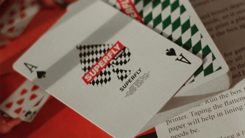 Baraja Superfly Royale Playing Cards de Gemini Decks. Cardistry