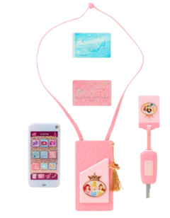 Conjunto telefone Play On Disney Princess