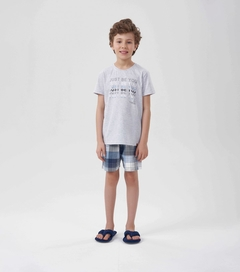 Pijama Manga Curta Menino -  just be you - comprar online
