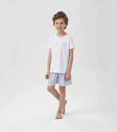 Pijama Manga Curta Menino -  everything - 66371 - comprar online
