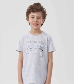 Pijama Manga Curta Menino -  just be you