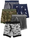 kit 4 cueca box  estampas sortidas - carter's