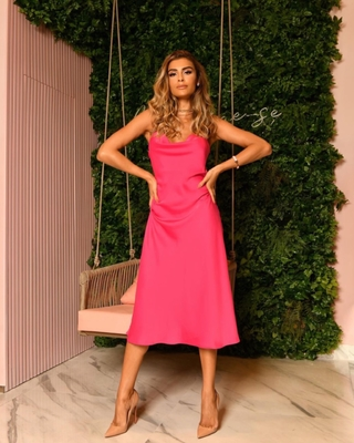 Vestido LB Slip Dress Pink