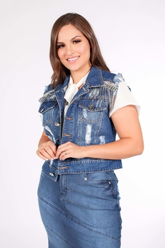 COLETE COM FRANJAS ref 11817 - Joy Fashion