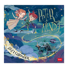 Calendario de pared 2021  Peter Wendy - 30x29 cm