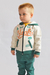 ART #4262 - CAMPERA FRISA C/ESTAMPA PLANA