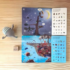 Down Down Down in the Sea: A lift-and-learn Peek-through Book - tienda online