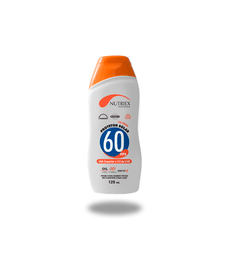 Protetor SOLAR - Nutriex FPS 60 bs 120ml
