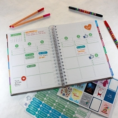 Daily Planner 2021 Personalizado Abstrato 2 na internet