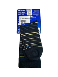 WS ULW ORGANIC COTTON TIPSY STRIPE CREW SOCKS (50205)