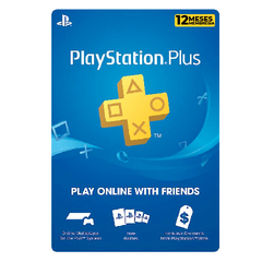 Playstation Plus: 12 meses - comprar online