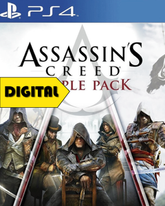Assassin's Creed Triple Pack (Unity + Black Flag + Syndicate)