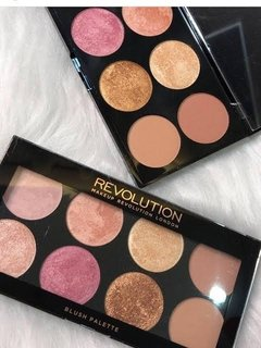 Revolution Golden Sugar 2 Rose Gold Ultra Blush Palette - comprar online