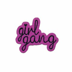 Patch Termocolante Girl Gang - comprar online