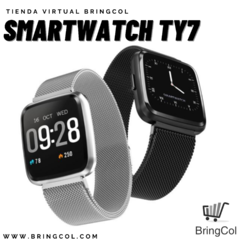 SMARTWATCH TY7 ( Metalico )