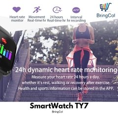 SMARTWATCH TY7 ( Metalico ) en internet