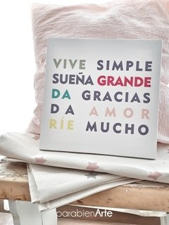 VIVE SIMPLE en internet