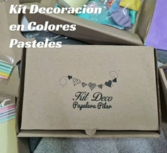 Kit Deco en Colores Pasteles