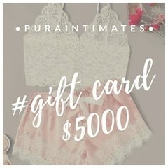 Giftcard Pura Intimates $5000