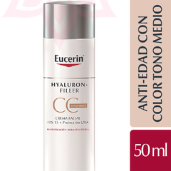 Eucerin HYALURON-FILLER CC Cream Tono Medio FPS 15 50ml