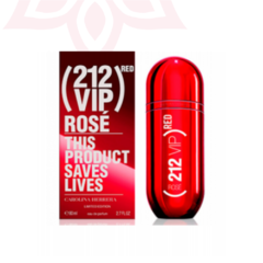 212 Vip Rose Red EDP 80ml Carolina Herrera