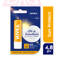 Protector Labial Humectante NIVEA Sun Protect FPS 30