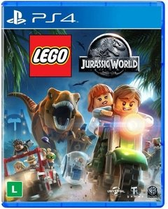 LEGO JURASSIC WORLD MÍDIA FÍSICA PS4
