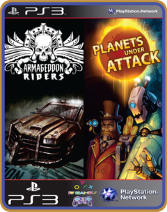 Ps3 Armageddon Riders + Planets Under Attack Pack - Digital