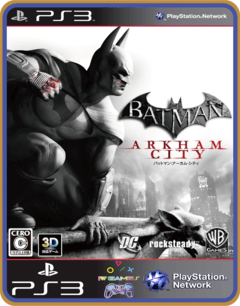 Ps3 Batman Arkham City |  Mídia Digital - comprar online